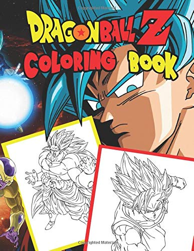 Dragon Ball Z: Jumbo DBS Coloring Book: 100 High Quality Pages (Volume 4) (DBZ Coloring Books) por Books Plus