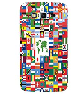 PrintDhaba Flags D-5505 Back Case Cover for SAMSUNG GALAXY GRAND 2 (Multi-Coloured)