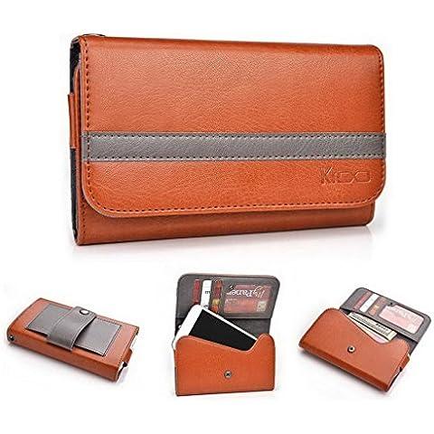 Kroo universale Custodia Cover a portafoglio per