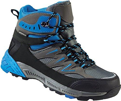 Crivit Outdoor Damen Trekkingstiefel/Wanderstiefel (blau/grau, Gr. 37)