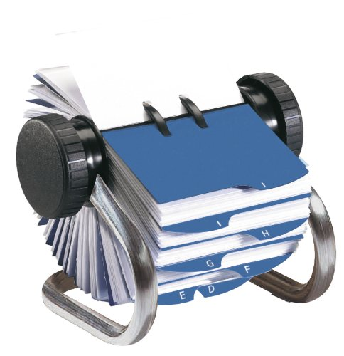 rolodex-chrome-rotary-business-card-file