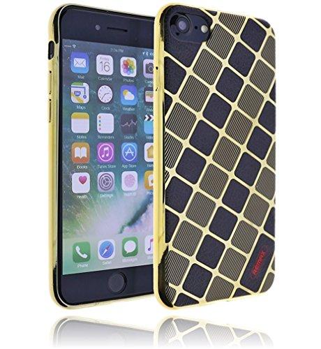 Apple iPhone 7 Hülle Design Silikon Schutzhülle inkl. GRATIS Panzerglas | Handyhülle | Bumper | Cover | Case | Tasche | Hülle aus bruchfestem Verbundstoff #017 BF-017