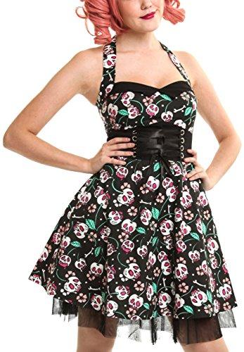 Cupcake Cult Kleid Izzie Dress Schwarz XL