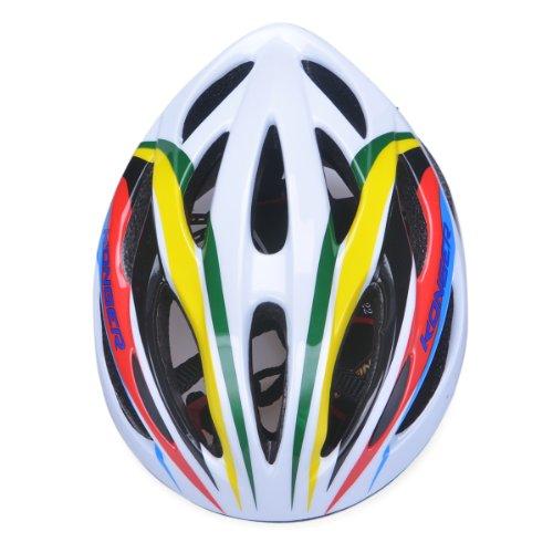 Universal Fit Männer Frauen Zyklus Helm Einstellbare Fahrrad Helm in Mischfarbe Größe :53-61cm Mädchen Einstellbare Rollschuhe