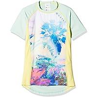 O 'Neill niña Zuma Beach S/Slv Skin Kiama–con protección UV Camiseta, niña, Zuma Beach s/slv Skin, Yellow AOP, 12
