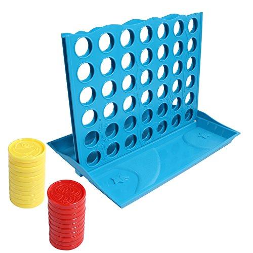 Connect 4Juego para Niños, 4en una fila juego Classic familia divertido juguete...