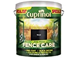 Cuprinol LMFCBL6L 6 Litre Less Mess Fence Care - Black