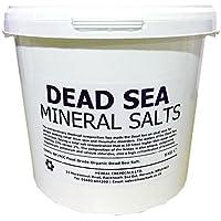 DEAD SEA BATH SALTS | 5KG BUCKET | 100% Natural Organic | FCC Food Grade