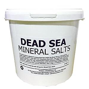 51adm4QkgaL. SS300  - DEAD SEA SALT | 5KG BUCKET | 100% Natural | FCC Food Grade