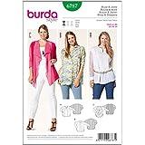 burda 6787 - Patrón de costura para blusas y chaquetas de mujer