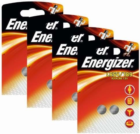 Energizer Original paquets de 4piles bouton alcaline 189 AAA 1,5V