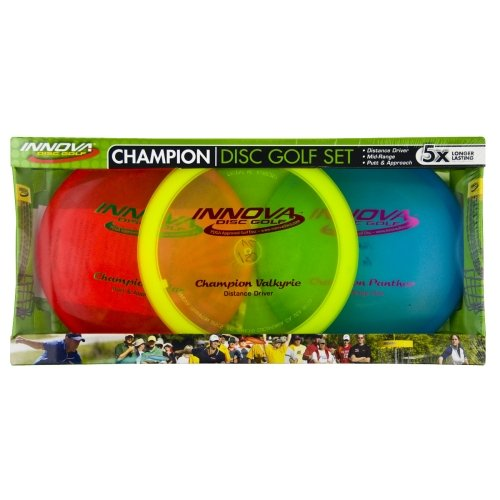Innova Champion Material Disc Golf, Set 3(Farben können variieren)