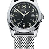 Victorinox-Swiss-Army-Mens-Quartz-Watch-Infantry-241585-with-Metal-Strap