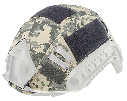 Oarea WoSporT Fast Helmabdeckung Airsoft Tactical Military Camo Helmabdeckung -