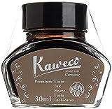 KAWECO Tintenglas 30ml Sepia Braun (Schreibtinte für Füllhalter)