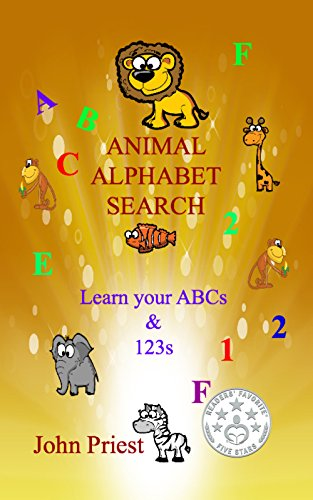 ebook: Animal Alphabet Search: Learn your ABC's and 1,2,3's (B00UZ1MZXO)