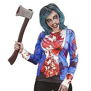WIDMANN manga larga Zombie Mujer