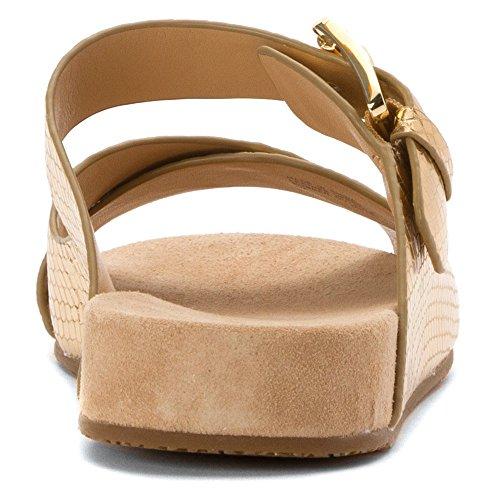 Michael Michael Kors Sawyer Lug Sandal Cuir Sandale pale gold