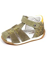Huhua-Baby Sandal Sandals for Boys, Sandali Bambini Rosa Hot rosa, Verde (Green), 36 2/3 EU
