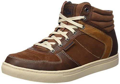 Skechers Elvino- Staley, baskets sportives homme brown (LUG)
