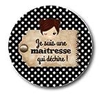 """Miroir de poche """"Je suis une ma�tress..."""