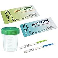 30 x proMatris Ovulationstest 10 miu/ml + 5 x proMatris Schwangerschaftstest 10 miu/ml + 5 Urinprobebecher preisvergleich bei billige-tabletten.eu