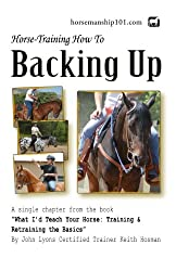 Backing Up (What I'd Teach Your Horse Book 12) (English Edition)