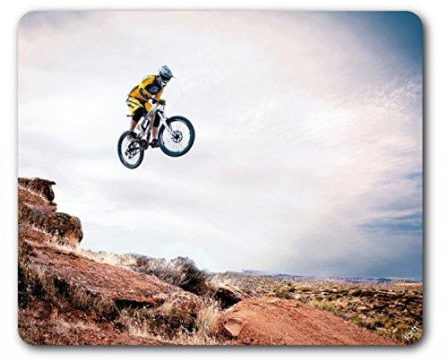 1art1 89459 Mountain Biking - Take Me Higher Mauspad 23 x 19 cm