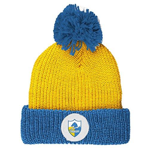 san-diego-chargers-mitchell-ness-nfl-vintage-retro-cuffed-knit-hat-chapeau-w-pom