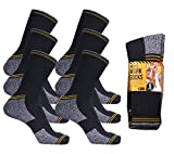 Best Work Boot Socks - Mens Work Socks Workwear Thermal Cushion Sole Boot Review