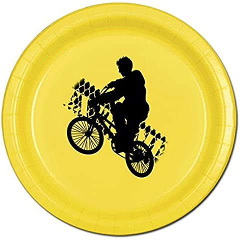 EXTREME BIKE DINNER PLATE (8/PKG) by Partypro