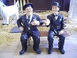 Dick und Doof Figuren mit Bank - Komikerfiguren - Filmfiguren - Menschenfiguren - P035