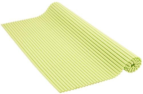 Venilia Weichschaummatte Venisoft Uni Anisgrün rutschfester Bodenbelag Duschmatte Anti-Rutschmatte, PVC-Polyester, Grün, 65 x 200 cm, 54154