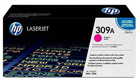 HP 309A Magenta Original LaserJet Toner Cartridge (Q2673A)