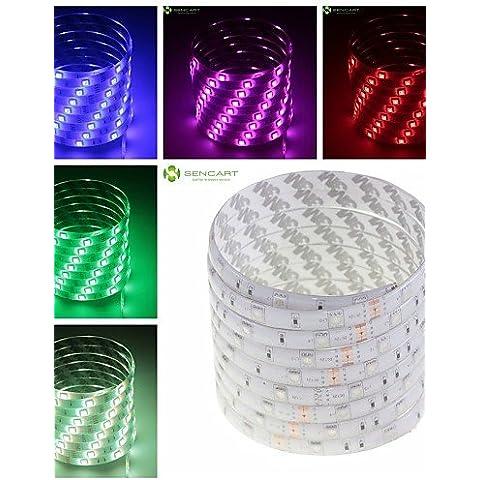 XMQC*5M 36W Impermeable 150x5050 / blanco cálido, blanco frío / Rojo / Amarillo / Azul / Verde TIRA DE LEDS Lámpara CC12V , blanco