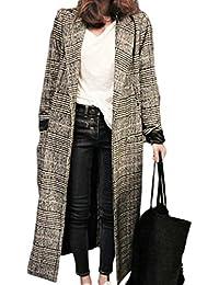 541e945b971e Sevozimda Frauen Britischen Stil Revers Einreihig Houndstooth Winter…