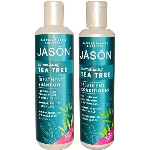 Jason Tea Tree shampoo e balsamo