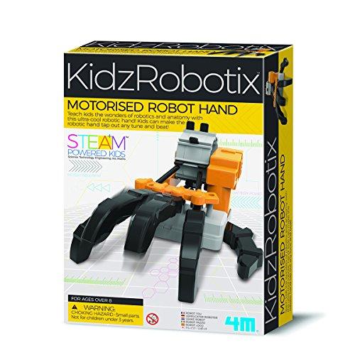 4M 00-03407 Die KidzRobotix motorisierte Roboter Macht die Bewegung der menschlichen Hand auf spielerische Weise zum Erlebnis und bringt Kindern den Umgang mit Robotik unterhaltsam nah, bunt