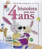 4 histoires pour mes 4 ans (1 livre + 1 CD audio)