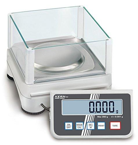 Hochauflösende Präzisionswaage mit abnehmbarem Auswertegerät für maximale Flexibilit [Kern PCD 250-3] Präzision bis 0,001 g, Wägebereich max. 250 g