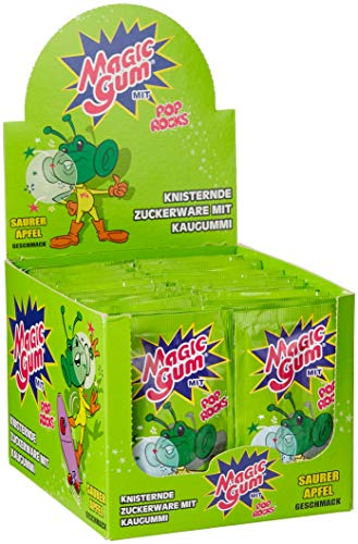 DOK Magic Gum Saurer Apfel, 50er Pack (50 x 7 g)
