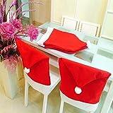 Labellevie Lot 4/6 Hussen Tischdekoration Weihnachten Form Weihnachtsmütze - 2