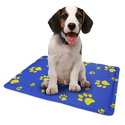 Pro Goleem Self Pet Cooling Gel Mat for Puppy Dog & Cat (Small), Cooling Pad & Sleep Well
