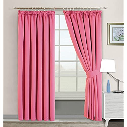 Pink and Green Curtains: Amazon.co.uk