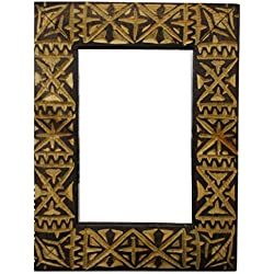 étnico Muebles de Espejo Marco Mosaico Puertas Marruecos marroquí Madera Tallada Oriental Hand Fabricado 0611181127