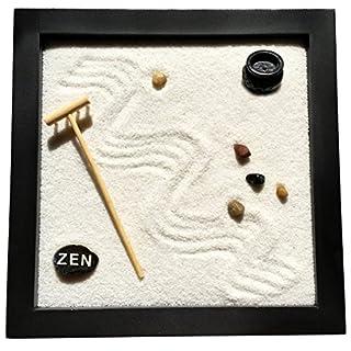 Zen-Garten 25 x 25 x 2 cm