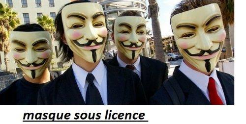 V for Vendetta Mask (máscara/ careta)