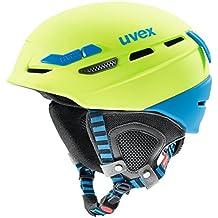 Uvex p.8000 Tour Casco de esquí, Invierno, Unisex, Color Verde,