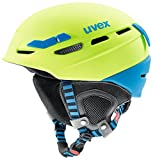 Uvex p.8000Tour Casco da sci, Unisex, 56/6/204/64/05, verde/blu, 55-59