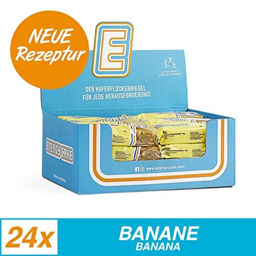 Energy Cake 24 Riegel, Banane, 125 g